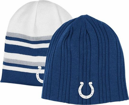 Indianapolis Colts Reversible Cuffless Knit Hat