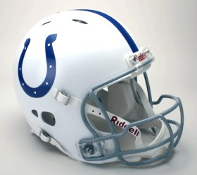 Indianapolis Colts Riddell Full Size Authentic Revolution Helmet