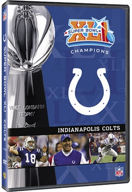 Indianapolis Colts S.B. Champs DVD