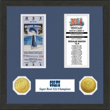 Indianapolis Colts Indianapolis Colts SB Championship Ticket Collection
