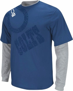 Indianapolis Colts Scrimmage Layered Thermal Shirt