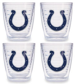 Indianapolis Colts Set of FOUR 12 oz. Tervis Tumblers