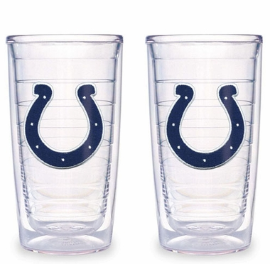 Indianapolis Colts Set of TWO 16 oz. Tervis Tumblers