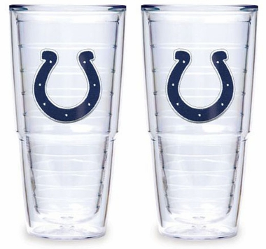 "Indianapolis Colts Set of TWO 24 oz. ""Big T"" Tervis Tumblers"