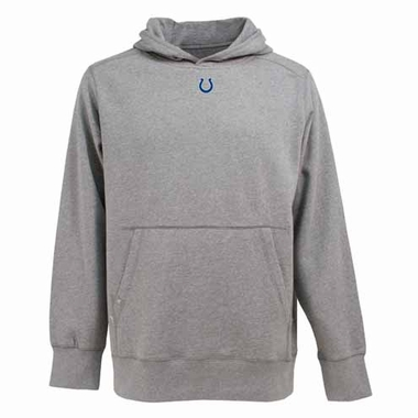 Indianapolis Colts Mens Signature Hooded Sweatshirt (Color: Gray)