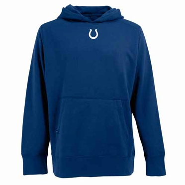 Indianapolis Colts Mens Signature Hooded Sweatshirt (Team Color: Royal)