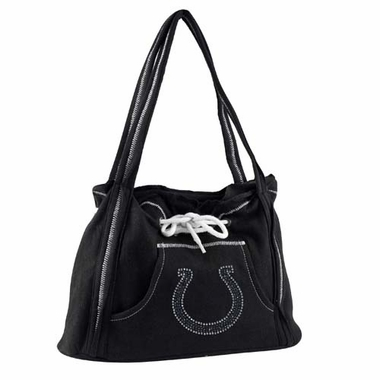 Indianapolis Colts Sport Noir Hoodie Purse