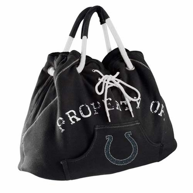 Indianapolis Colts Sport Noir Hoodie Tote