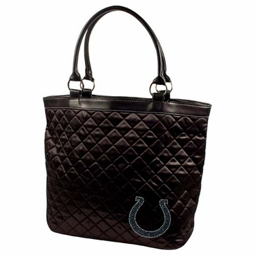 Indianapolis Colts Sport Noir Quilted Tote
