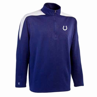 Indianapolis Colts Mens Succeed 1/4 Zip Performance Pullover (Team Color: Royal)