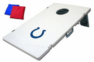 Indianapolis Colts Tailgate Toss 2.0 Cornhole Beanbag Game
