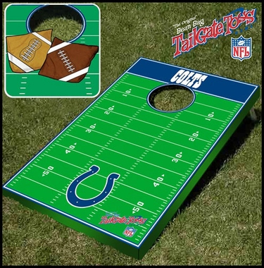 Indianapolis Colts Tailgate Toss Cornhole Beanbag Game