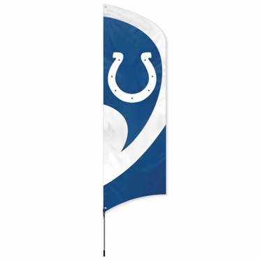 Indianapolis Colts Tall Team Flag
