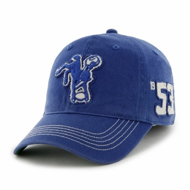 Indianapolis Colts Throwback Badger Franchise Flex Fit Hat