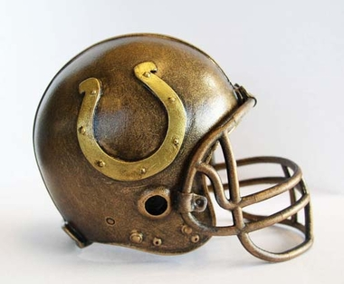 Indianapolis Colts Tim Wolfe Helmet Statue