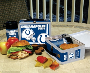 Indianapolis Colts Tin Lunch Box