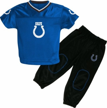 Indianapolis Colts Toddler Jersey and Pants Set