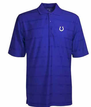 Indianapolis Colts Mens Tonal Polo (Team Color: Royal)