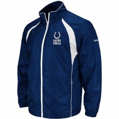 Indianapolis Colts Trainer Full Zip Lightweight Jacket