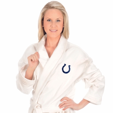 Indianapolis Colts UNISEX Bath Robe (White)
