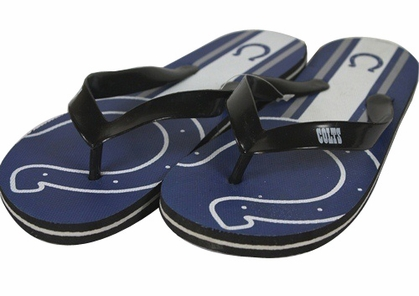 Indianapolis Colts Unisex Big Logo Flip Flops