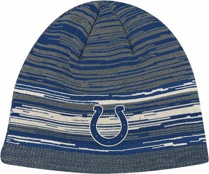 Indianapolis Colts Vintage Heathered Cuffless Knit Hat