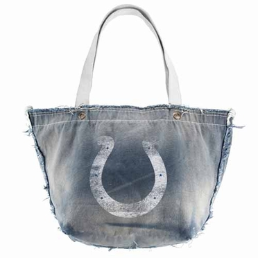 Indianapolis Colts Vintage Tote (Denim)