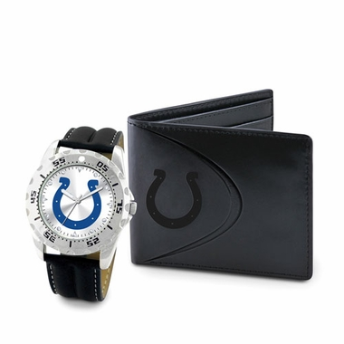 Indianapolis Colts Watch and Wallet Gift Set