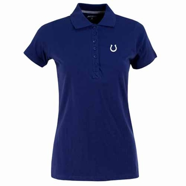 Indianapolis Colts Womens Spark Polo (Team Color: Royal)