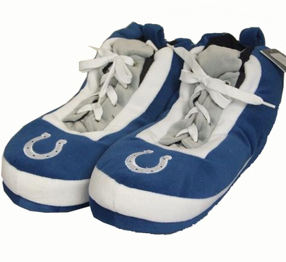 Indianapolis Colts Wrapped Logo Sneaker Slippers