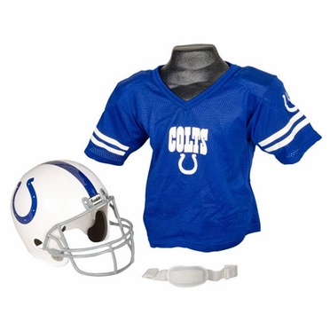 Indianapolis Colts Youth Helmet and Jersey Set