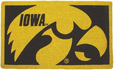 Iowa 18x30 Bleached Welcome Mat