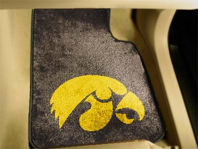 Iowa 2 Piece Car Mats