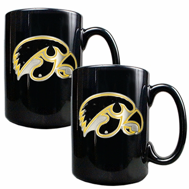 Iowa 2 Piece Coffee Mug Set