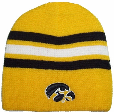 Iowa 2010 Slide Cuffless Knit Hat Beanie