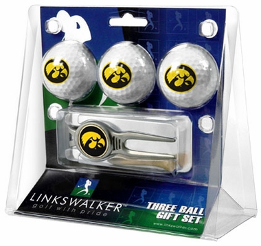 Iowa 3 Ball Gift Pack With Kool Tool
