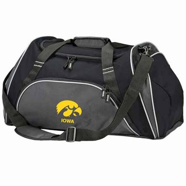 Iowa Action Duffle (Color: Black)