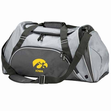 Iowa Action Duffle (Color: Grey)