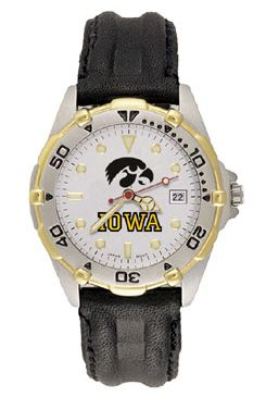 Iowa All Star Mens (Leather Band) Watch