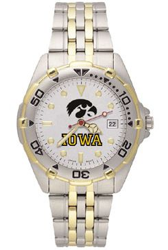 Iowa All Star Mens (Steel Band) Watch