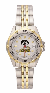 Iowa All Star Womens (Steel Band) Watch