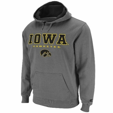 Iowa Automatic Hooded Sweatshirt (Charcoal)