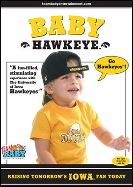 Iowa Baby Hawkeye DVD