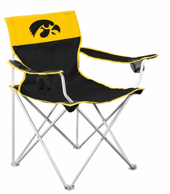 Iowa Big Boy Adult Folding Logo Chair