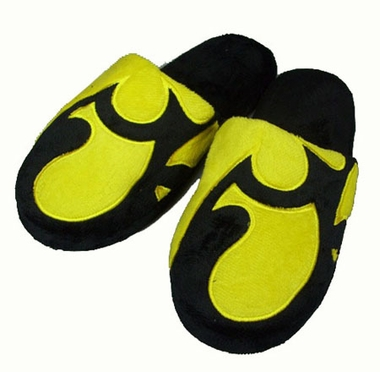 Iowa Big Logo Hard Sole Slippers