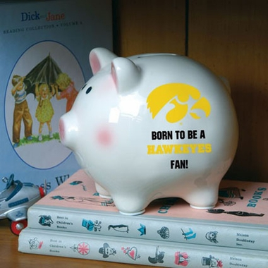Iowa (Born to Be) Piggy Bank