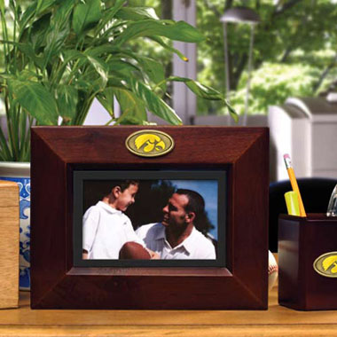 Iowa BROWN Landscape Picture Frame