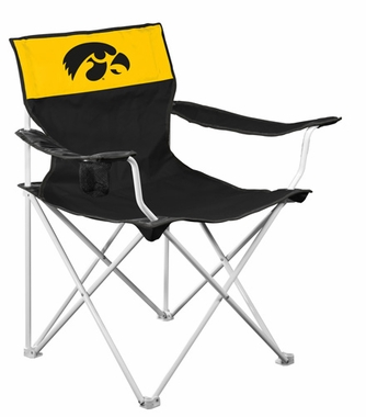 Iowa Canvas Adult Folding Logo Chair