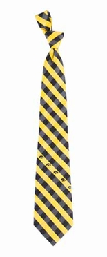 Iowa Check Poly Necktie