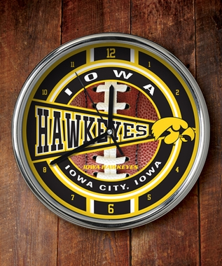 Iowa Chrome Clock